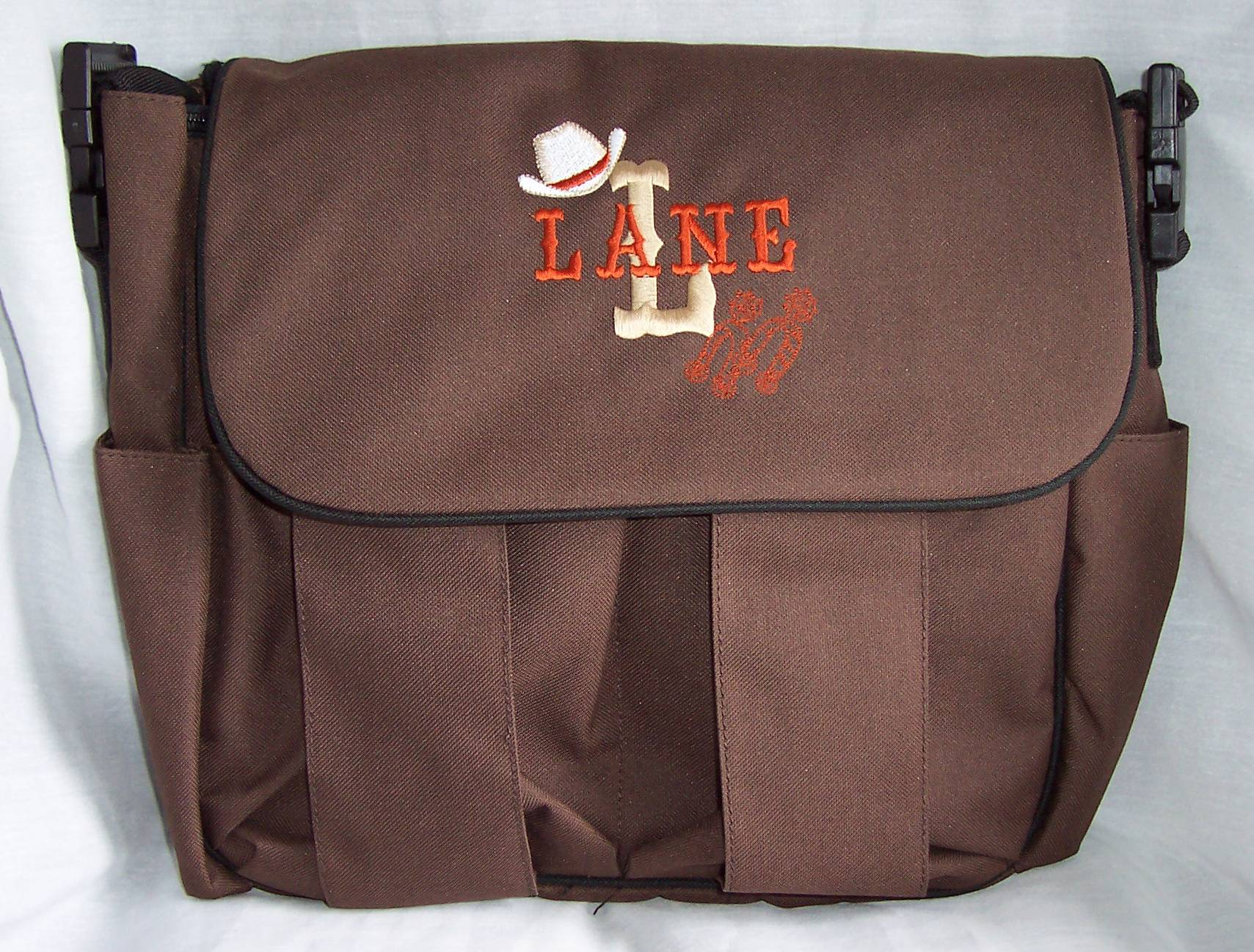 Cowboy Diaper Bags : Cowboy diaper bag personalized cowgirl baby tote rodeo ebay