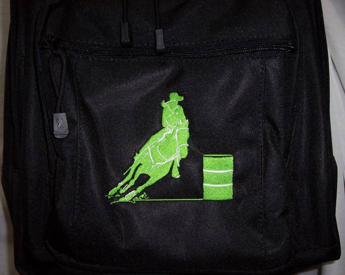 Barrel Racer Racing Backpack & Lunch Bag     PERSONALIZED   NEW