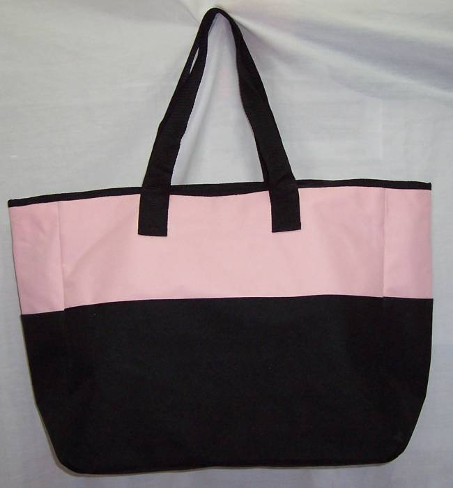 Barrel Racer Racing PINK Tote Bag horse rodeo NEW LARGE